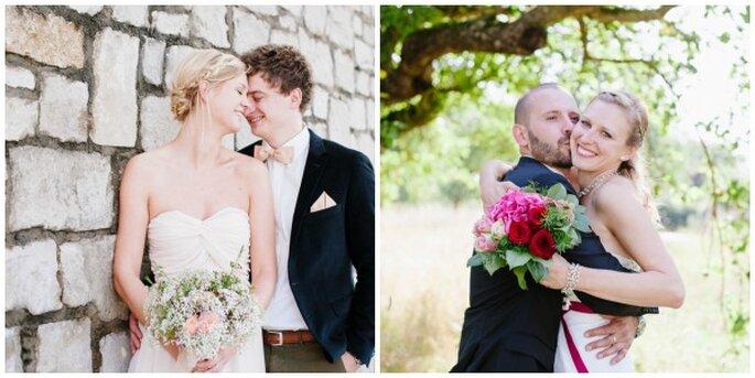 Farbenfrohe, bezaubernde Hochzeitsfotos von Nadine Frech