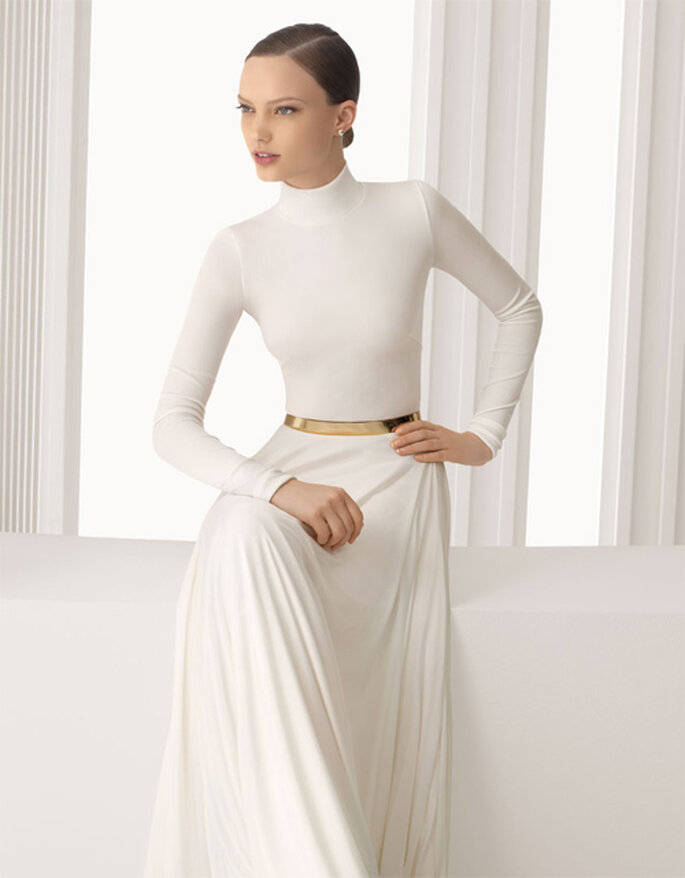 Robes de mariée simples Rosa Clara 2012