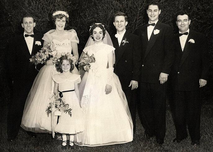 Boda en 1954. Foto: Walter