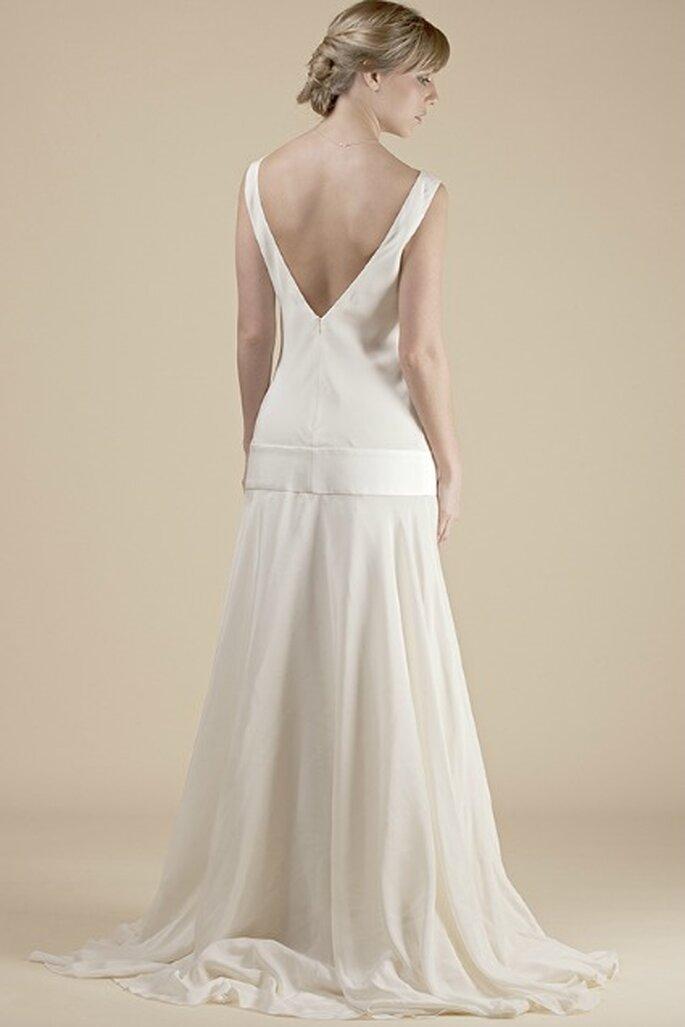 Robe de mariée sur mesure Steva Couture, modèle Anne