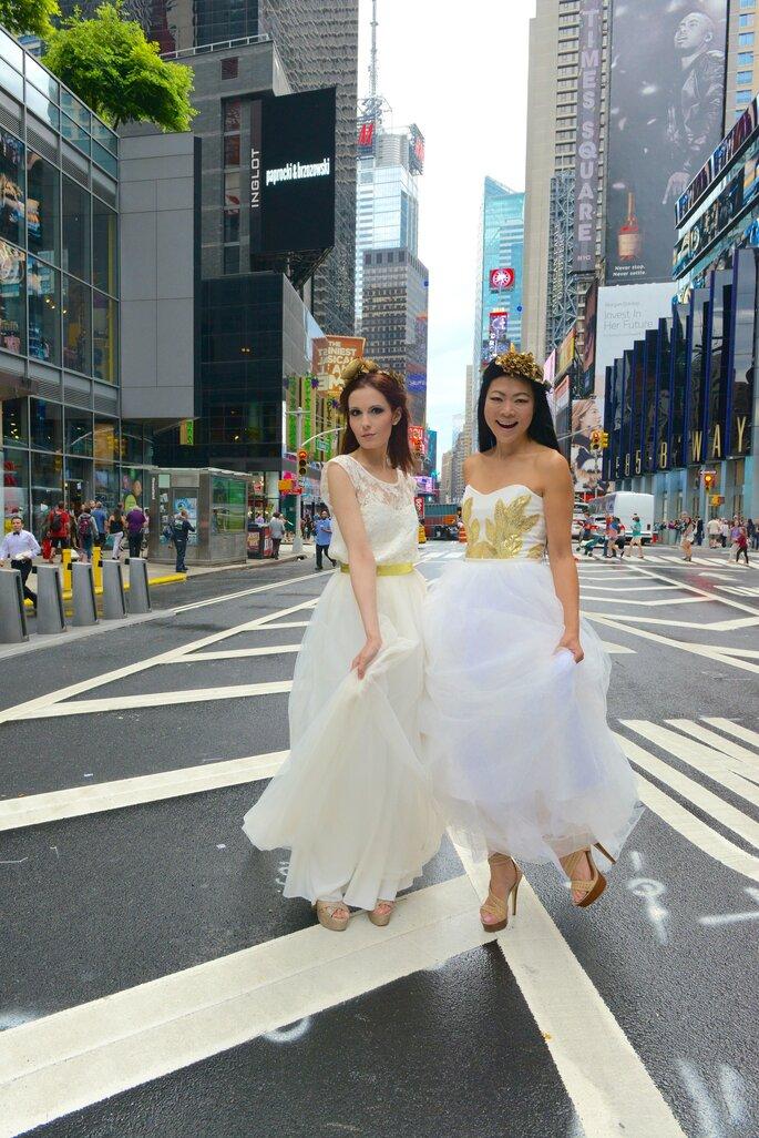 Modèles Solange et Alysha (Photo : Jean Nguyen)