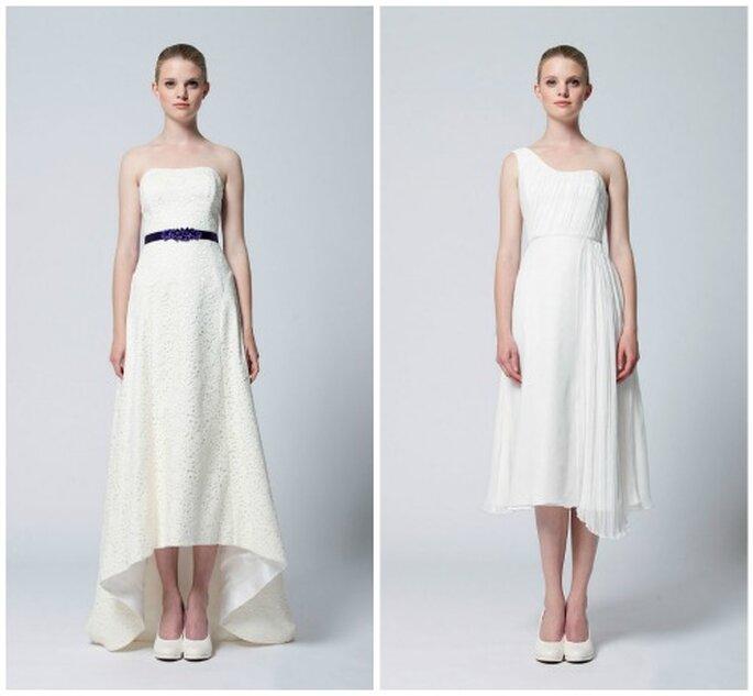 Dos propuestas para novias de la firma alemana Kisui