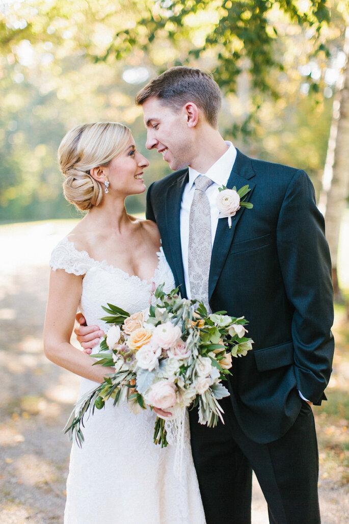 14 idées pour que mari et femme soient parfaitement assortis le jour du mariage - Erin McGinn