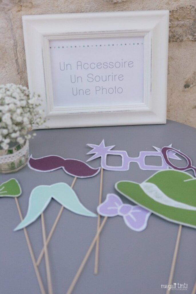 Photos et animations sont les bienvenues lors du cocktail de mariage - Photo : Magali Tinti