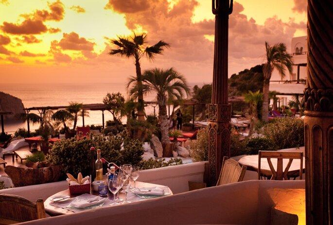 Terraza del Restaurante-Lounge Eden, Hotel Hacienda Na Xamena, Ibiza