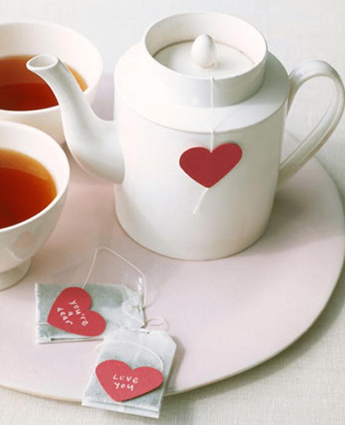 Romantici filtri per tè e tisane