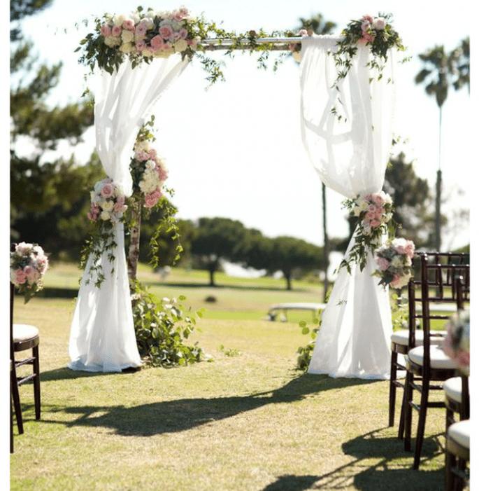 Los altares de boda más lindos para la ceremonia religiosa - Chris and Kristen Photography