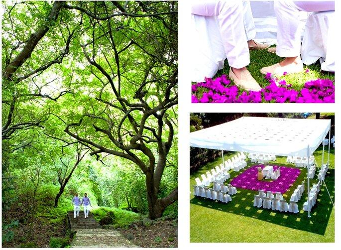 Foto vía Maly Santín Lovely Weddings