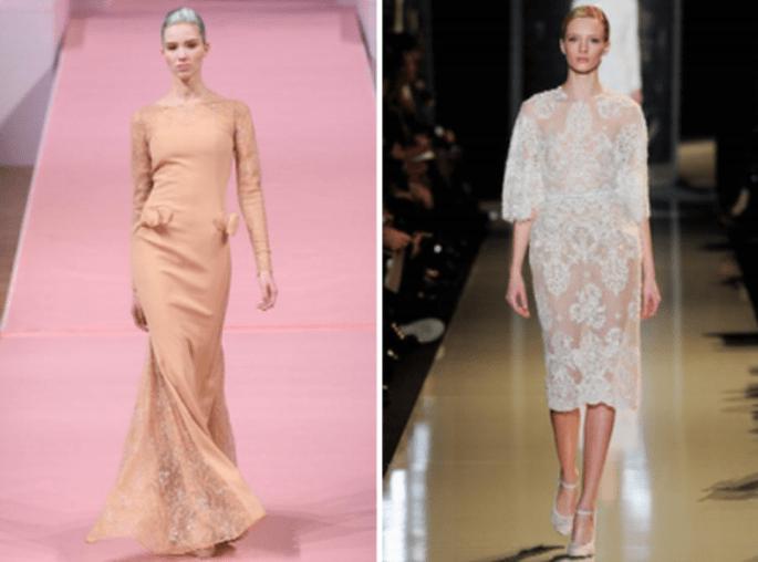Las transparencias serán una tendencia top en los vestidos de fiesta 2013 - Foto Valentino