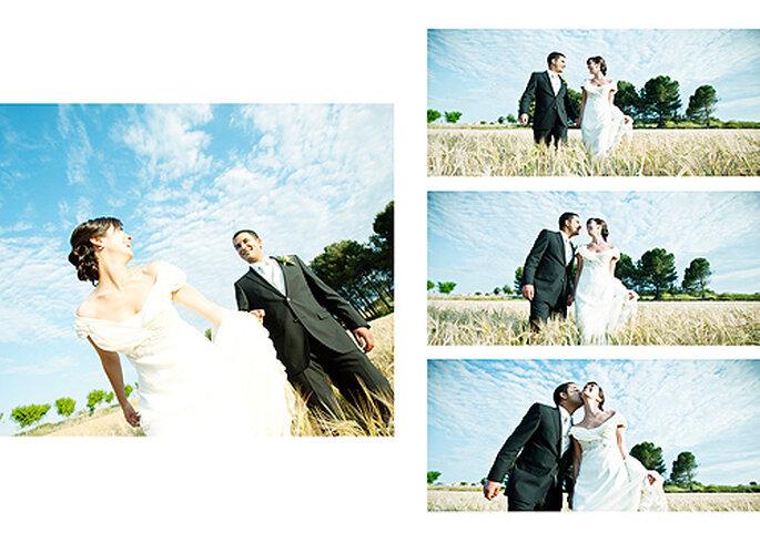 Álbumes de boda personalizados. Foto: Punto de Vista