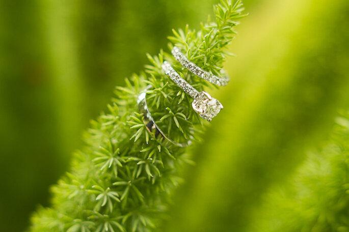Fotografía de anillos de compromiso. Foto de Pepe Orellena