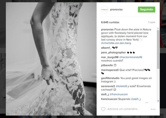 Instagram Pronovias