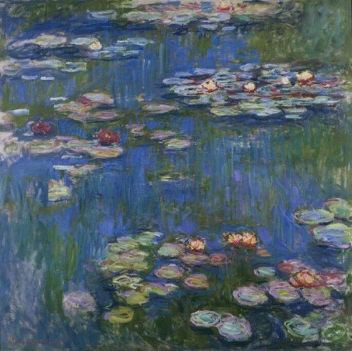 Le Ninfee. Claude Monet 1916
