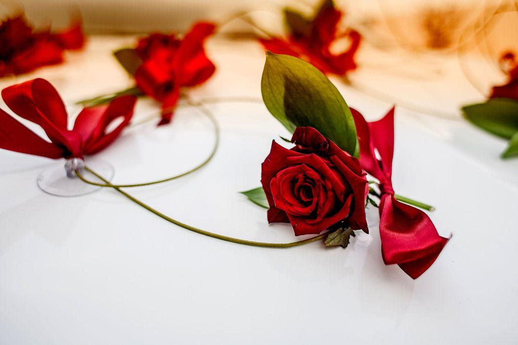 Piękne kwiaty dobrze prezentowały się a ich zapach był wspaniały!