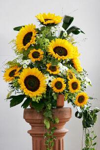 Beispiel: Florale Raumgestaltung, Foto: Blumenkiste.