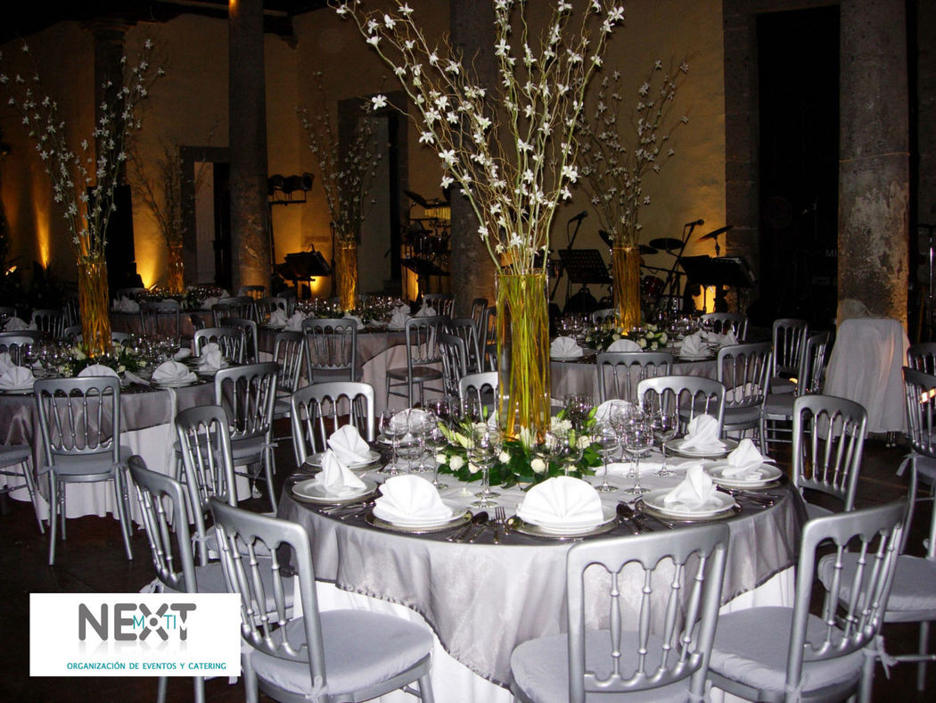 Su boda con nextmotiv_montaje y decoración en color plata