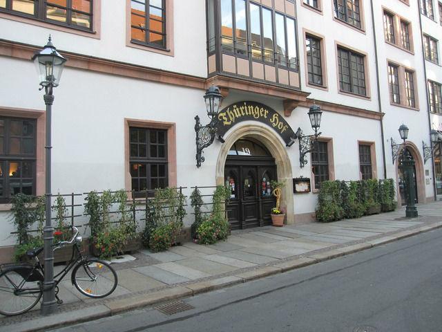 Beispiel: Außenansicht, Foto: Thüringer Hof zu Leipzig.
