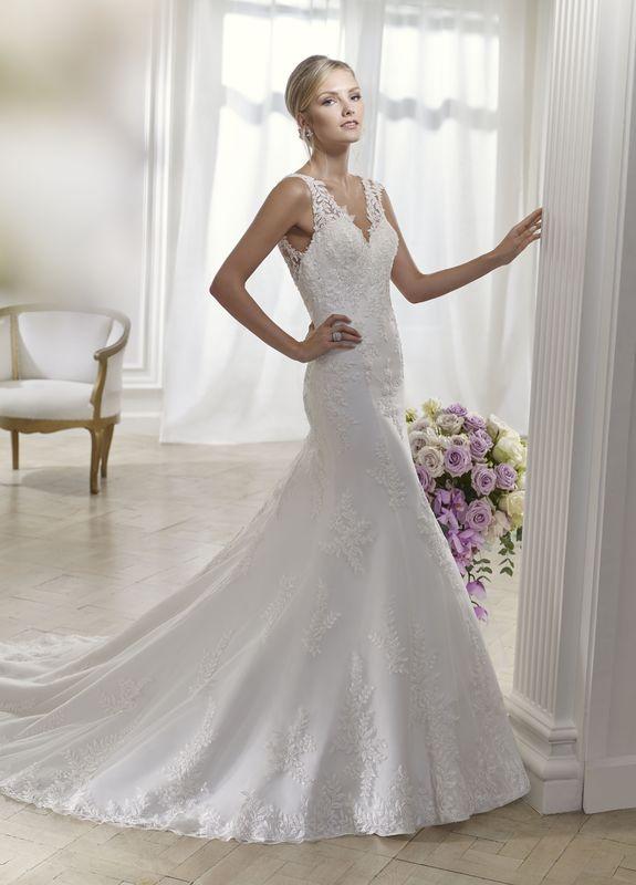 SYMPATHIE ivoire ou blanc - collection Un jour, une mariée