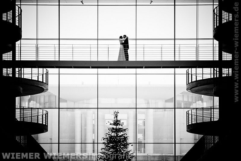 Hochzeitsfotos Berlin Kanzleramt Hochzeitsfotograf: WIEMER WIEMERS|Fotografie
