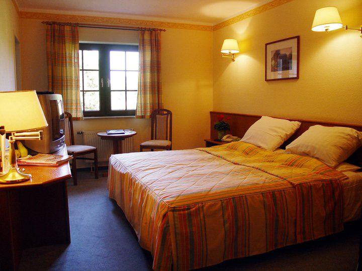 Beispiel: Doppelzimmer, Foto: Landhaus Geliti.