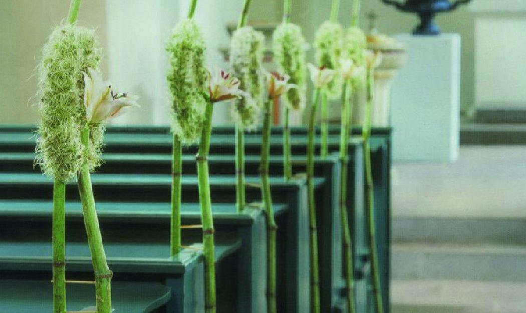 Beispiel: Kirchenschmuck, Foto: Blumen Komander.
