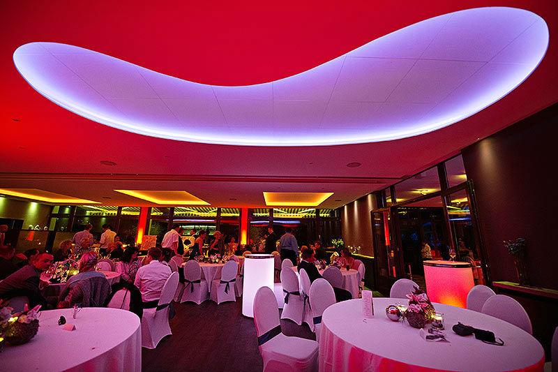 Beispiel: Restaurant - Bankett, Foto: Moods Bar & Restaurant.