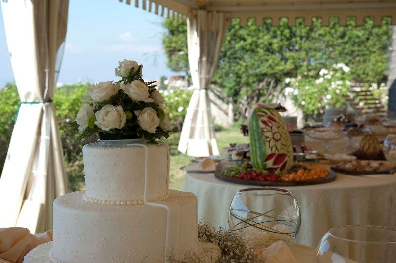 Park Hotel Villa Grazioli: Torta nunziale