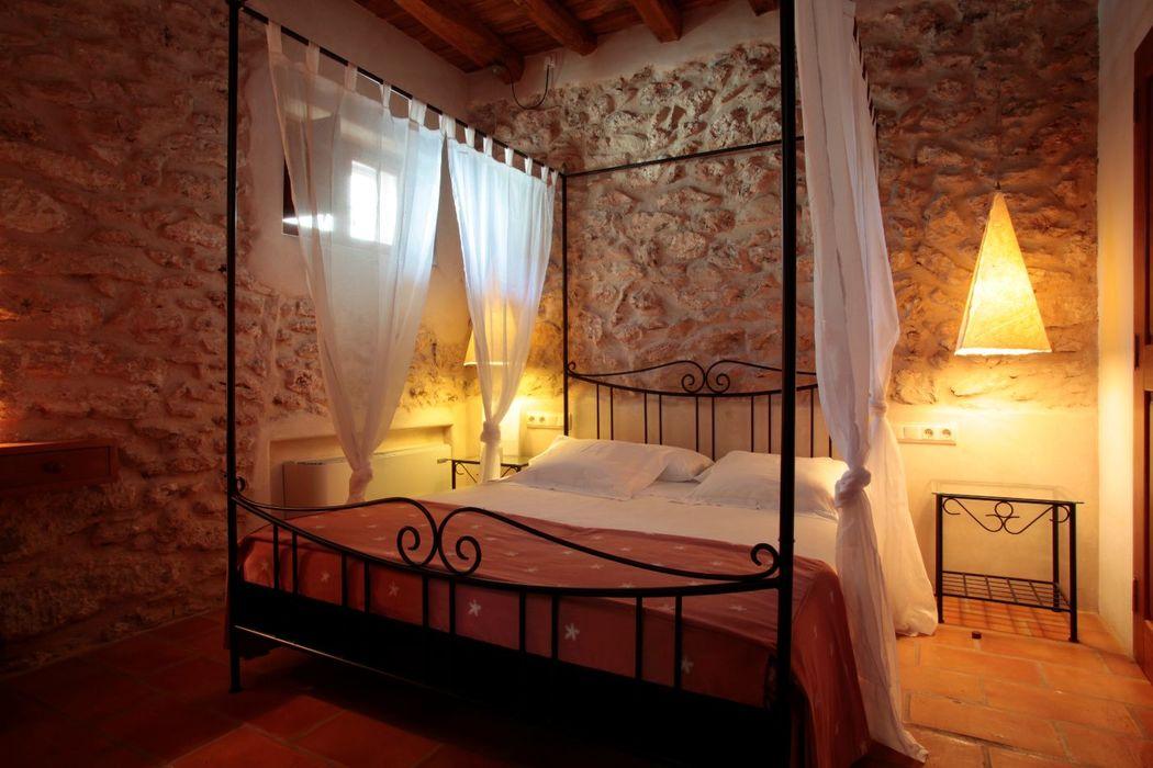 Can Lluc Boutique Country  Hotel · Rural & Chic Weddings Habitación doble superior con salón 2+2