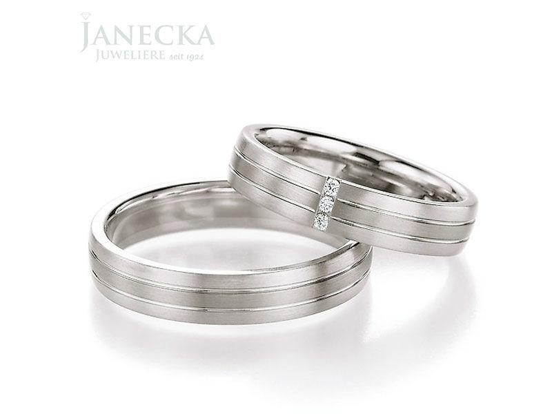 Beispiel: Trauringe für jeden Geschmack, Foto: Juweliere Janecka.