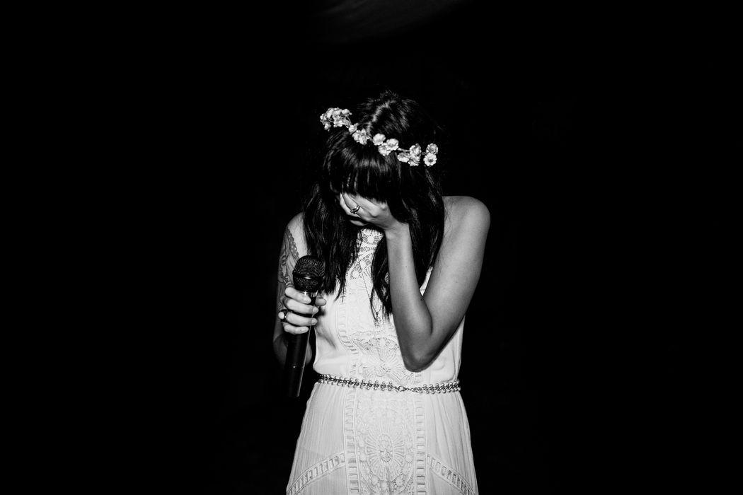 The bride's speach