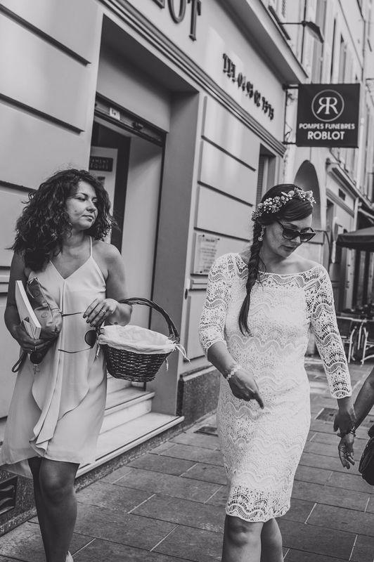 mariage champetre : mairie de Nice , alpes-maritimes