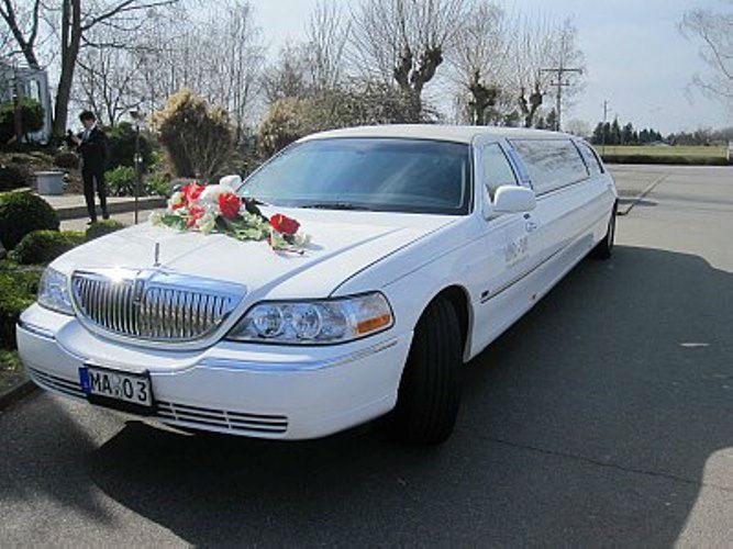 Beispiel: Ihre Limousine zur Hochzeit, Foto: Limo-Day Mannheim.
