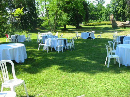 Domaine Lou Prada - le parc