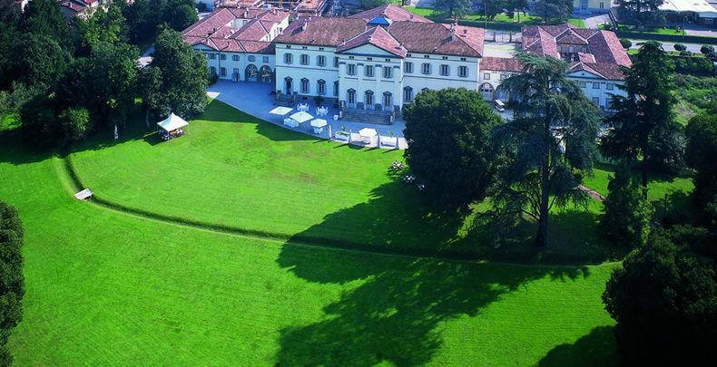 Vista aerea del parco di oltre 4 ettari!