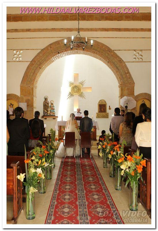 boda Iglesia de la Fundacion. Ciudad de Dios