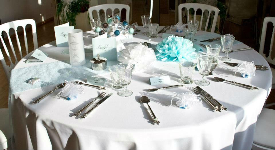 Beispiel: Tischdekoration, Foto: Hochzeitshaus Berlin Hochzeitsplanung,