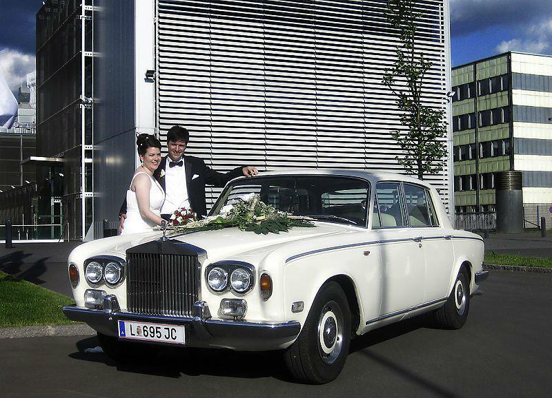 Beispiel: Rolls Royce Silver Shadow I, Foto: Royal Classics Oldtimer.