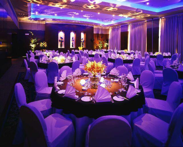 Sala Balowa Regency Ballroom (385 m2) jest miejscem dedykowanym do organizacji przyjęć weselnych. Dodatkowo Para Młoda ma do dyspozycji foyer przed salą balową o powierzchni 120 m2.