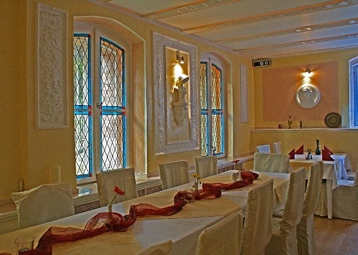 Beispiel: Gewölbekeller - Bankett, Foto: Villa am Fennpfuhl.