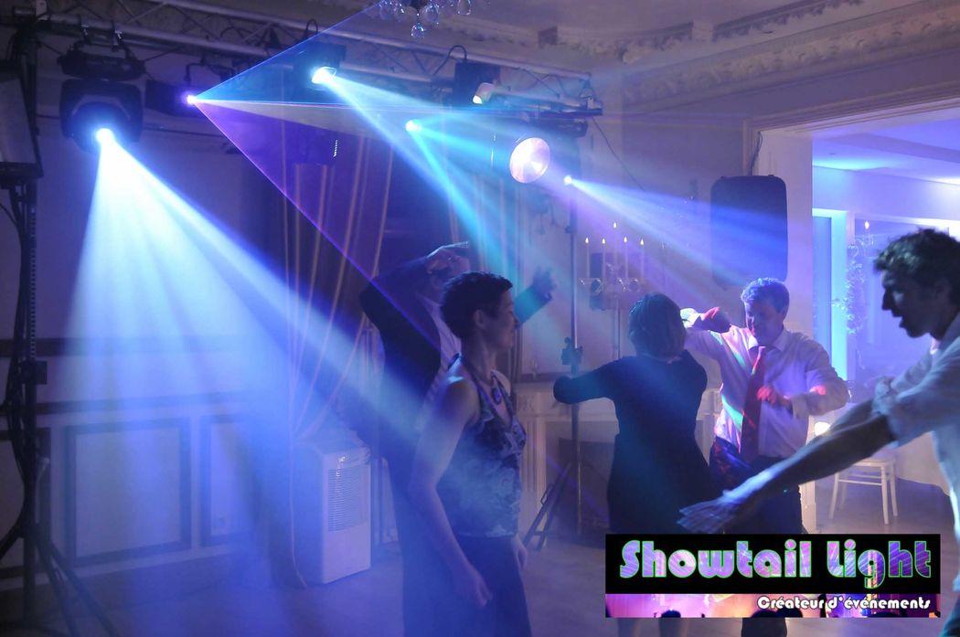 Ambiance lumineuse Piste de danse