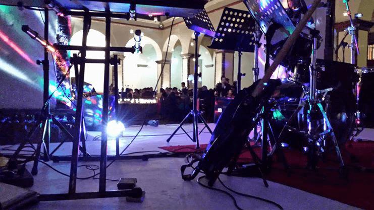 Audio e iluminación.