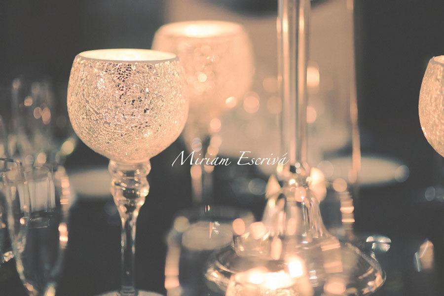 Decoración boda romántica