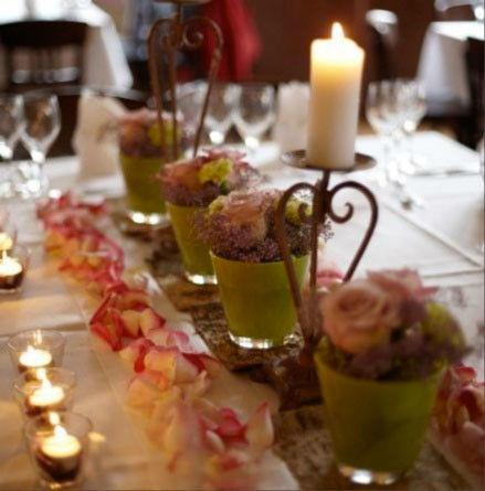 Beispiel: Hochzeitsdekoration, Foto: Wirtshaus in der Au.