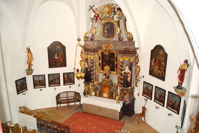 Beispiel: Burgkapelle, Foto: Friedensburg Schlaning.