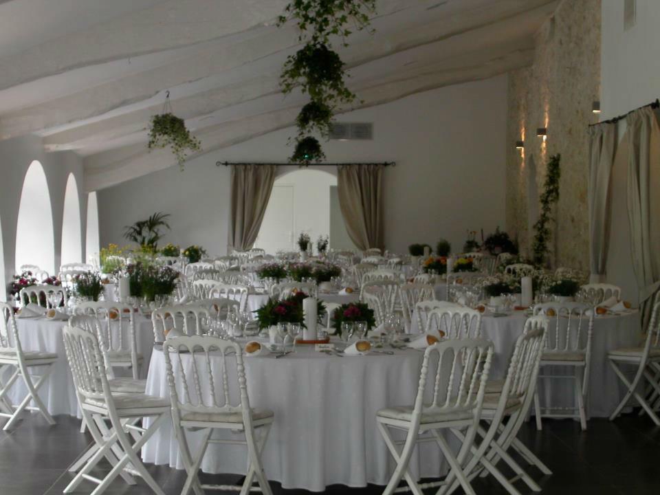 La Salle Aliénor en configuration mariage