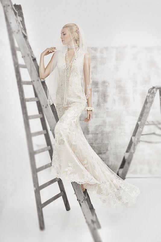 Beispiel: Brautkleid Kenneth Winston