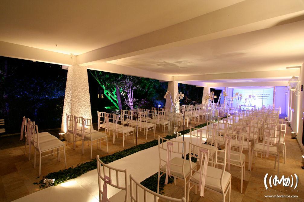 Salão da Pérgula - Clube Marapendi.Foto: M2 Eventos.