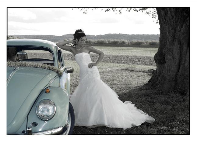 Beispiel: Portrait der Braut, Foto: Julio Flores Photography.