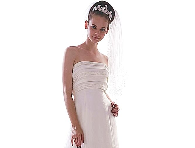 Beispiel: Brautkleid Heaven 01, Foto: Loreley - Dresses for the Moment.