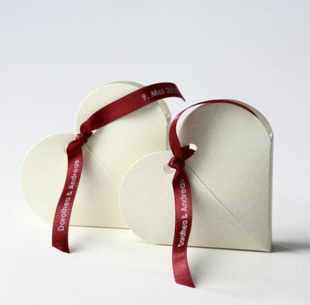 Beispiel: Hochzeitstüten, Foto: Decorize.